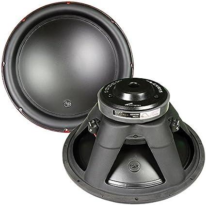 "Audiopipe 12/"" Woofer 1200W Max 4 Ohm DVC"