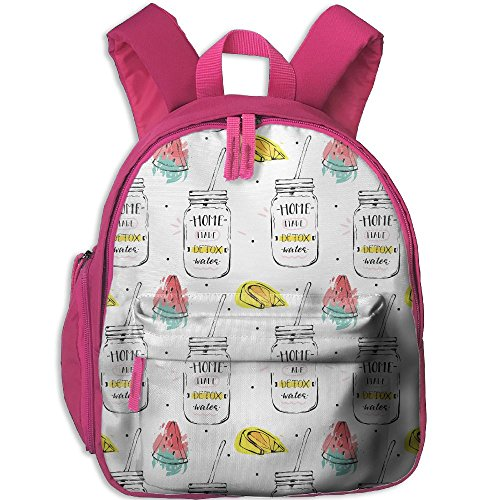 (Children Pre School Backpack Boy&girl's Home Made Detox Water Watermelon Book Bag)