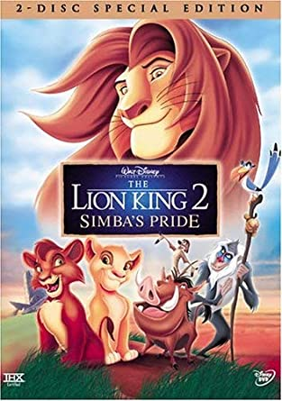 amazon com the lion king 2 simba\u0027s pride (two disc special The Lion King Topic