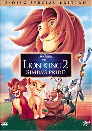 Amazon Com The Lion King 2 Simba S Pride Two Disc Special Edition Matthew Broderick Neve Campbell Andy Dick Robert Guillaume James Earl Jones Moira Kelly Nathan Lane Jason Marsden Suzanne Pleshette Ernie Sabella Lacey