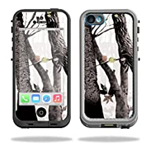 MightySkins Protective Vinyl Skin Decal for LifeProof iPhone 5C Case fre Case wrap cover sticker skins Artic Camo