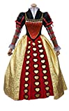 Nuoqi Women's Gothic Lolita Dress Victorian Fancy Palace Dress Halloween Cosplay Costumes