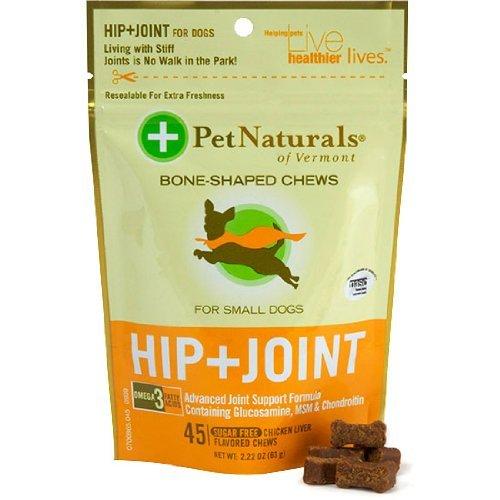 Pet Naturals Hip & Joint pour chiens de petite taille (45 count)