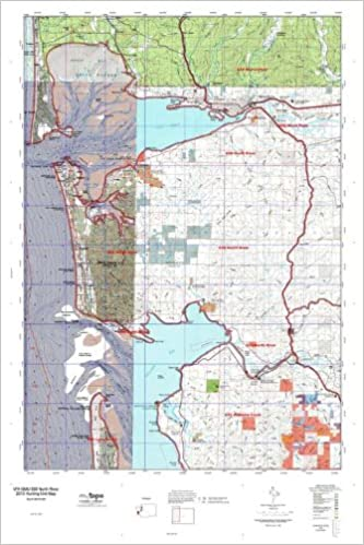 WA GMU 658 North River Hunt Area / Game Management Units (GMU) Map ...