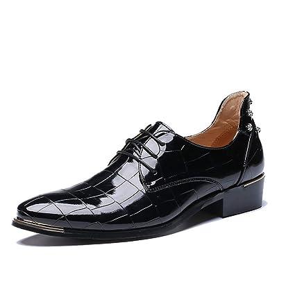 Fang-shoes, 2018 Zapatos Hombre, Zapatos Oxford de Moda para Hombre, Estilo