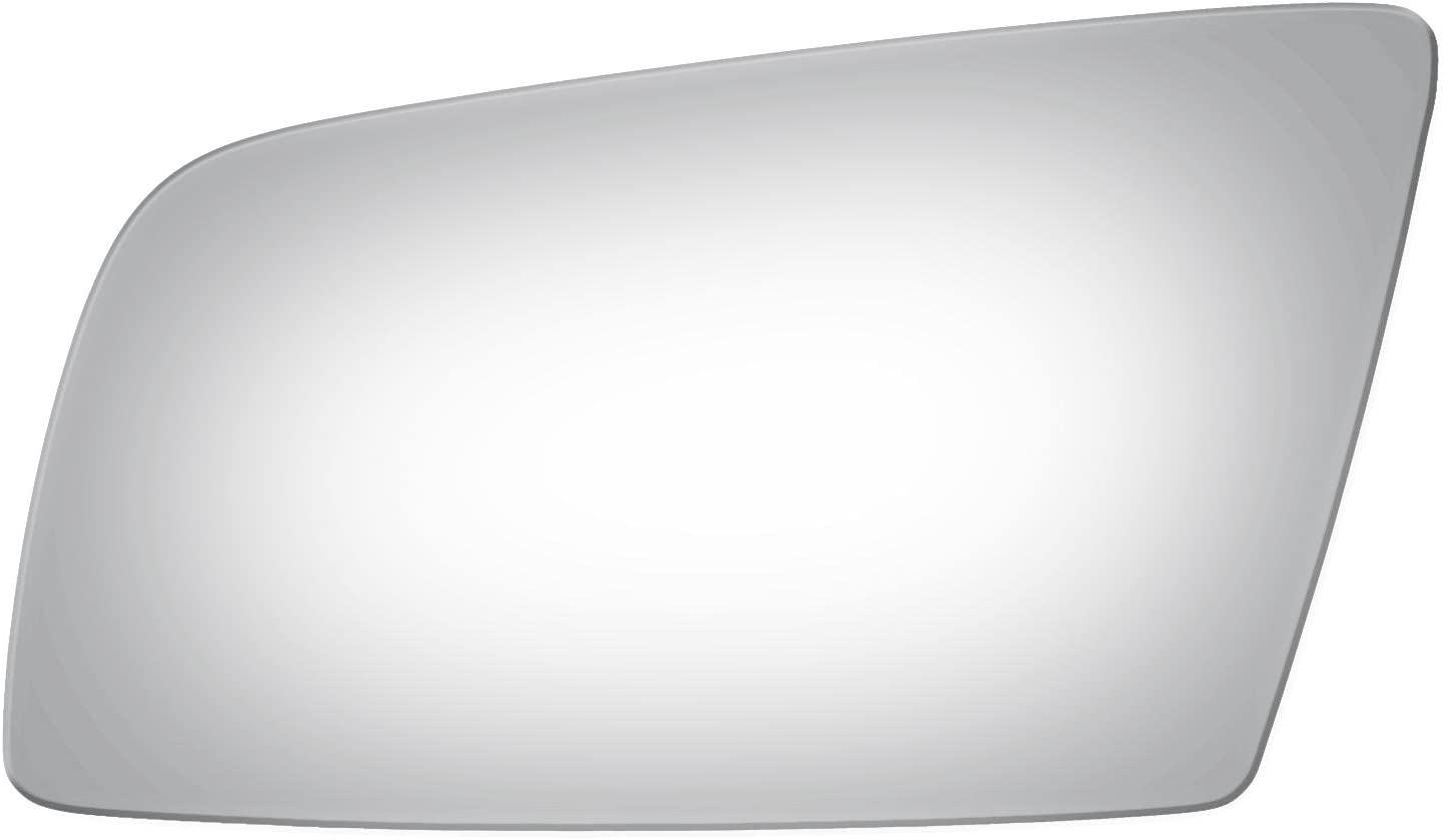 Mirrex 80294 Passenger Right Side Replacement Fitting BMW 525 528 530 535 550 650 M5 M6 Mirror Glass 2006 2007 2008 2009