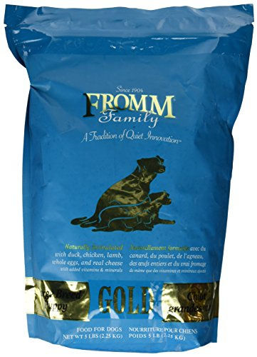 - Fromm Gold Puppy Food Large Breed (5 lb)