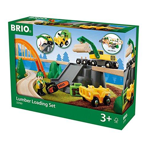 33789 BRIO Lumber Loading Set by Brio