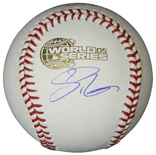 - Scott Podsednik Signed Rawlings Official 2005 World Series Baseball