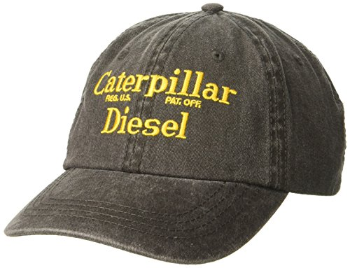 Caterpillar Men's Diesel Cap, Black, One Size