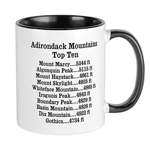 CafePress ADK Top Ten Mug Unique Coffee Mug, Coffee Cup ()