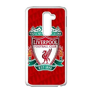 LG G2 Cell Phone Case White Liverpool Logo DFN Design Hard Phone Case