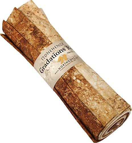 (Stonehenge Gradations Iron Ore 8 Fat Quarters Northcott)