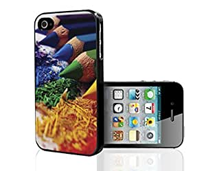 Artists Color Pencil Hard Snap on Phone Case (iPhone 4/4s)
