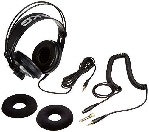 AKG Pro Audio K141 MKII Professional On-Ear Semi-Open Studio Headphones by AKG Pro Audio