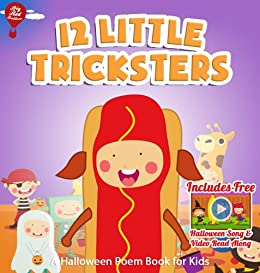 12 Little Tricksters [Halloween Poems Book for Kids] (Big Red Balloon 13) by [Balloon, Big Red ]