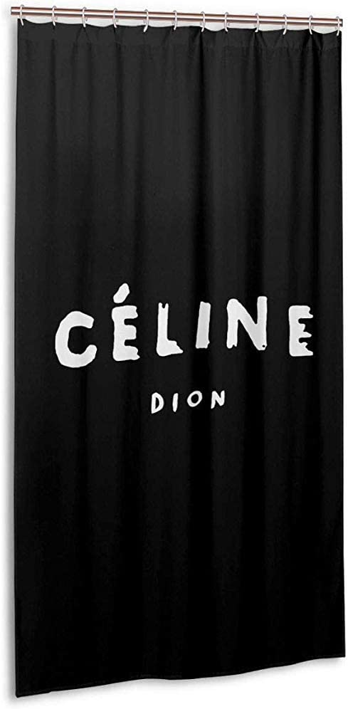 JobFine Shower Curtain Cortina De Ducha De 36X72Pulgadas-Cortina De Ducha Celine Dion Stall Size