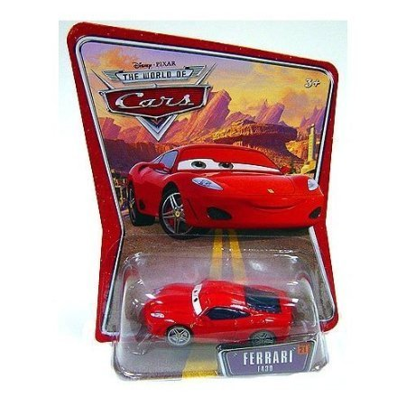 Ferrari F430 Michael Schumacher Disney Pixar World of Cars Edition Car 1:55 Scale Mattel by Dubblebla