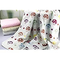 Organic Dream Baby Muslin Swaddle Blanket - Oversized 47in x 47in - Ultra Sof...