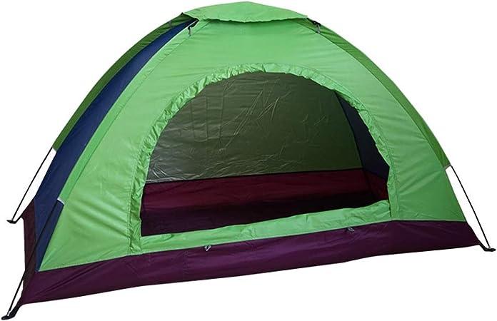Tienda de campaña portátil para 3 a 4 Personas, de una Sola Capa, Impermeable, respetuosa con el Medio Ambiente, para Playa, al Aire Libre, Viajes, Senderismo, Camping: Amazon.es: Hogar