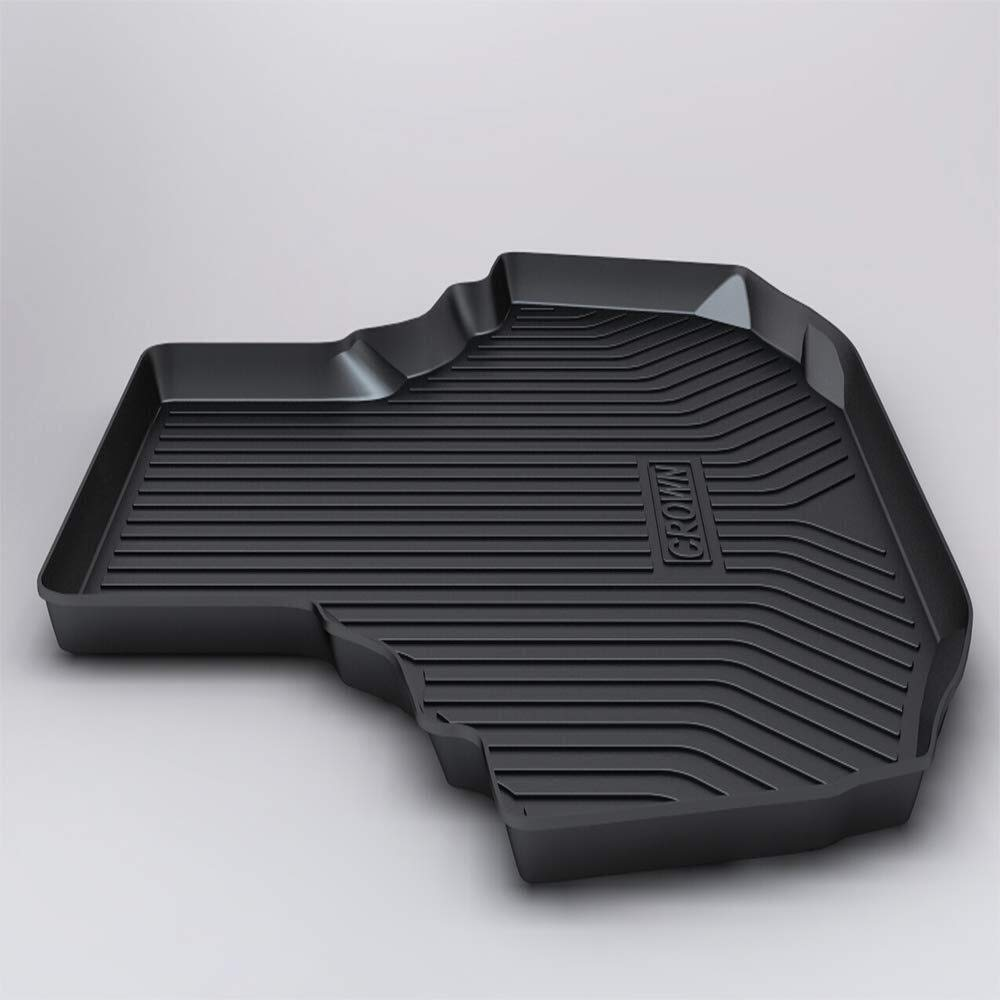 Alfombrilla para Maletero para FJ-cruiser 2012-2017 Trasera del maletero del forro de carga del veh/ículo Alfombrilla del piso Protector de goma del forro del maletero del coche negro Resistente al