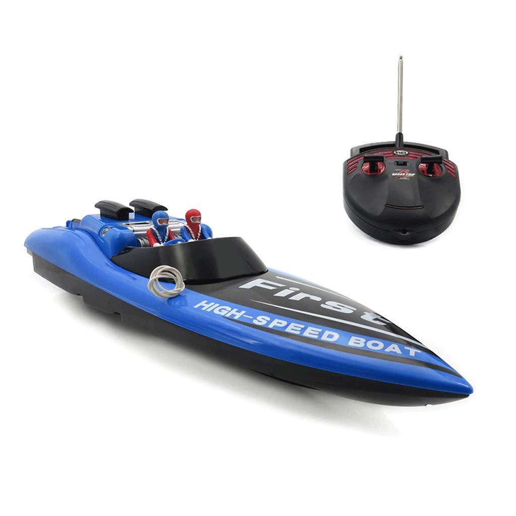 AXJJ Barche telecomandate per Piscine e Laghi Barche radiocomandate per Bambini o Adulti Giocattoli per Barche ad Alta velocità Adatte per Ragazzi o Ragazze