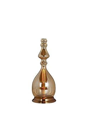 Verre Poser Fine Design Meubletmoi En Fumé Transparent À Lampe SzqMGUVpL