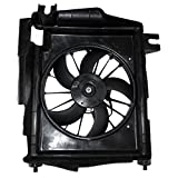 AC A/C Condenser Cooling Fan Assembly Replacement for Dodge Pickup Truck 5093760AA