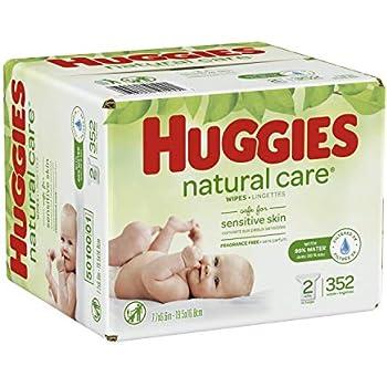 Amazon Com Huggies Natural Care Baby Wipes 2 Packs 352