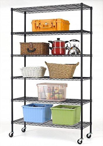 Open Adjustable Steel Shelving (82
