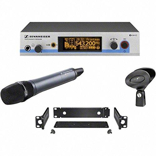 Sennheiser E945 Supercardioid Dynamic Microphone (Sennheiser EW 500-945 G3 - Wireless Vocal System with Dynamic Supercardioid Handheld Mic - B-Range (626 - 668 MHz))