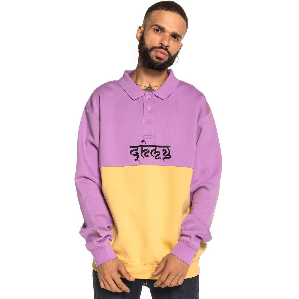 Grimey SHAMBALA Stripes Sweatshirt FW18 Violet