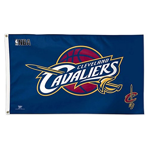 Wincraft NBA Cleveland Cavaliers 02378115 Deluxe Flag, 3' x 5' ()