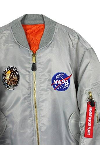 Ma 13 Bomber Hommes Apollo Jacket Nasa 1 wIBHaBxq1