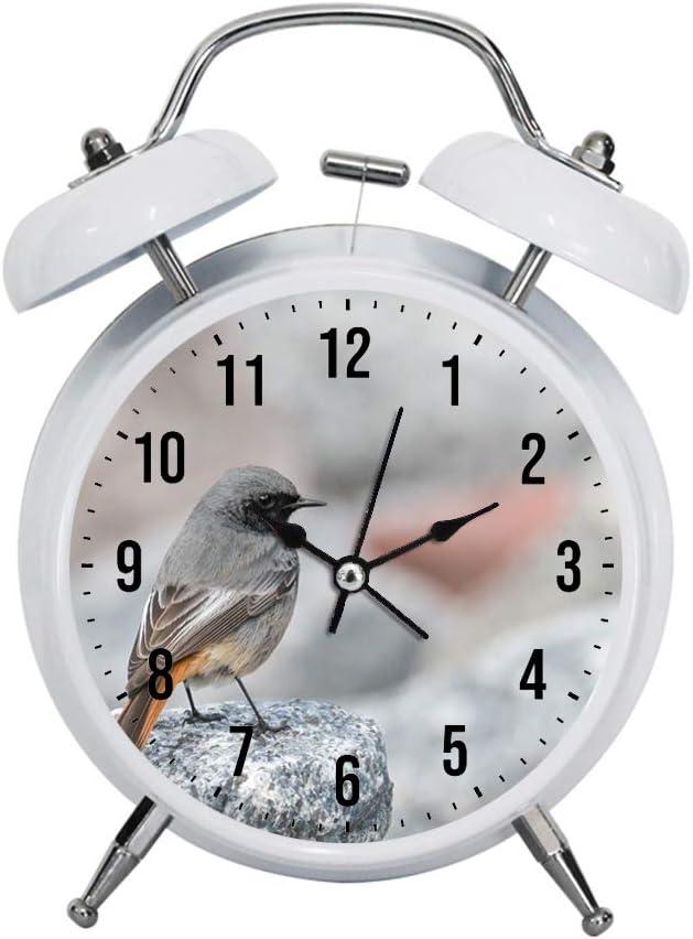 PGTASK R/éveil pour Enfant R/étro /él/égant r/éveil Horloge r/éveil Forte de Nuit D/écoration de Maison de Nuit Selective Mise au Point Photo de la Marque Noir et Marron Rapide Oiseau