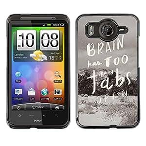 Dragon Case - FOR HTC G10 - Open the door in winter - Caja protectora de pl??stico duro de la cubierta Dise?¡Ào Slim Fit