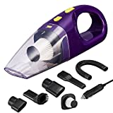 Car Vacuum Cleaner, High Power LeadCon DC 12v Portable Handheld...