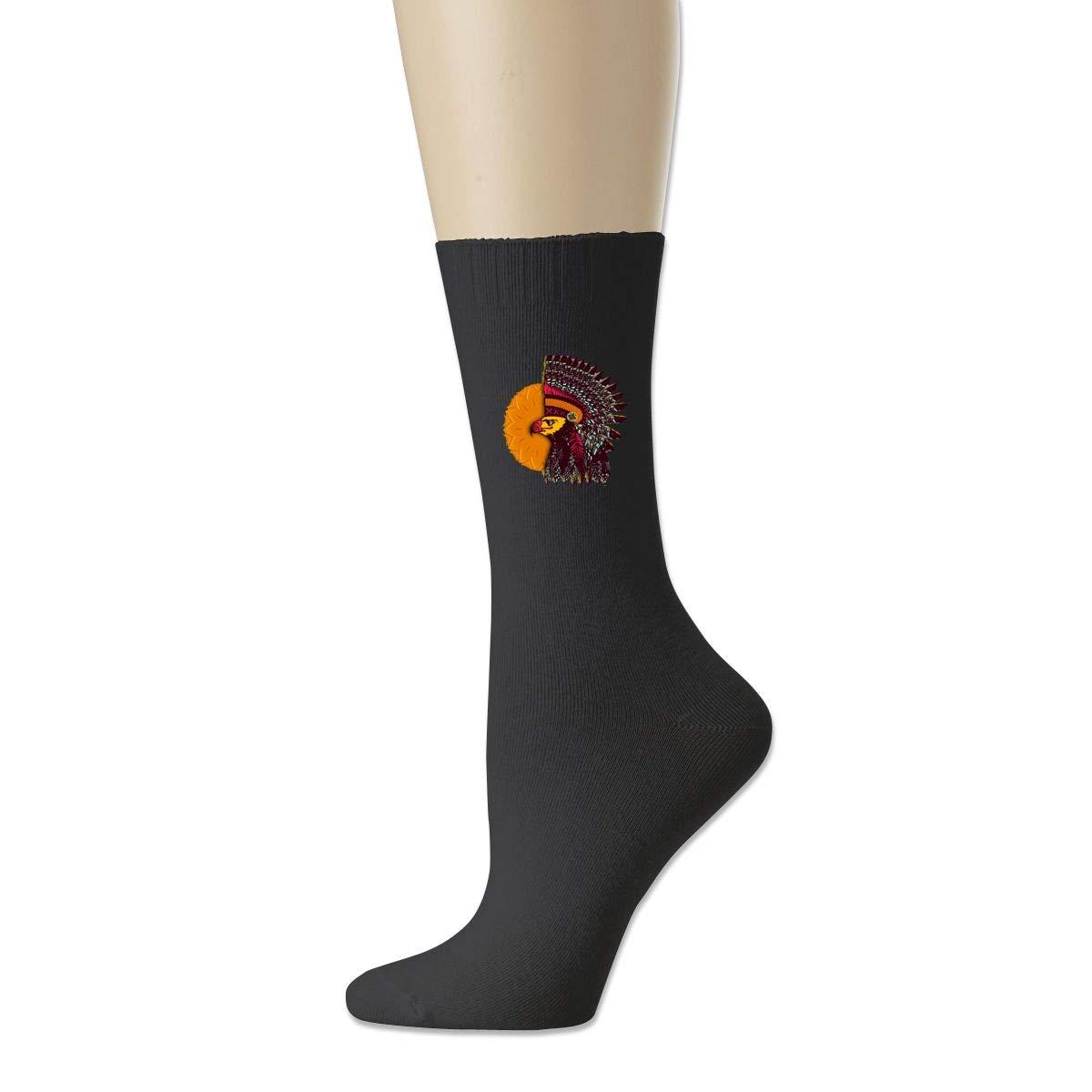 Rigg-socks American Sun Indian Headdress Mens Comfortable Sport Socks Gray