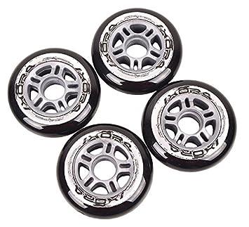 Ruedas & Wheels Patines en línea, 4 pieza para patines de 82 a PU 90