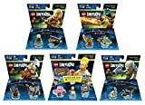 The Simpsons Homer Simpson Level Pack + The Lord Of The Rings Legolas Gimli Gollum + The Legend Of Chima Cragger Fun Packs - LEGO Dimensions - Not Machine Specific