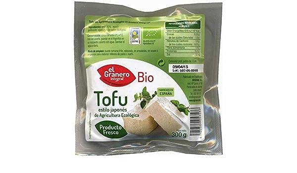 Biogran Fresco Tofu Estilo Japon S 1 Kg Bio Granero 1 Unidad ...