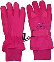 N'Ice Caps Kids Cute Animal Faces Cold Weather Thinsulate Waterproof Gl
