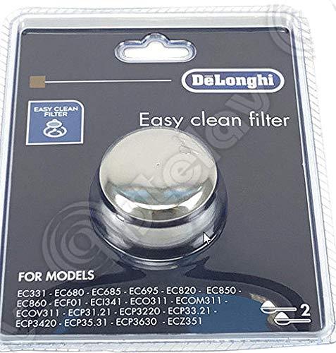 DeLonghi EC680 Dedica 15-Bar Pump Espresso MachineFilter 2 Cups ...