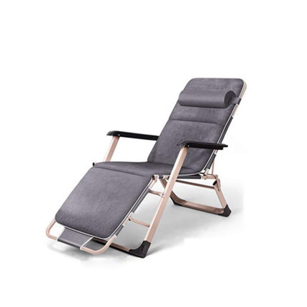 JDGK ギフト - 期間限定お試し価格 ラウンジチェア 8974 B07SZB59XP リクライニングチェア折りたたみ昼休みリクライニングチェア老人昼寝椅子ロッキングチェア大人バックチェアクールチェア昼寝ベッド怠惰な椅子