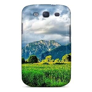 Unique Design Galaxy S3 Durable Tpu Case Cover Cloudy Days