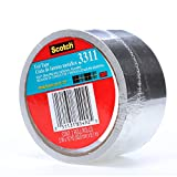Scotch Aluminum Foil Tape 3311 Silver, 2 in x 10 yd 3.6 mil (Pack of 1)