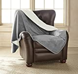Mambe 100% Waterproof Silky Soft Throw for Dogs, Cats, and People (LargeLong 60'' x 120'', Buff-Dove)
