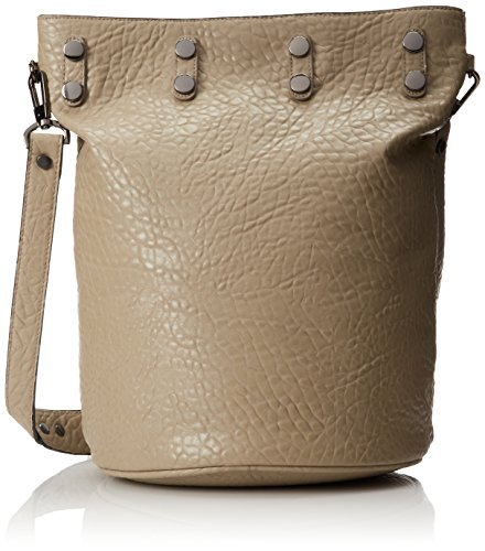 French Connection Gypsy Bucket Shoulder Bag,Sea Grass,One Size (Grass Purse)