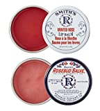 Rosebud Perfume Co. ROSEBUD SALVE / MINTED ROSE Lip Balm Two Pack: 2 x 0.8 tins
