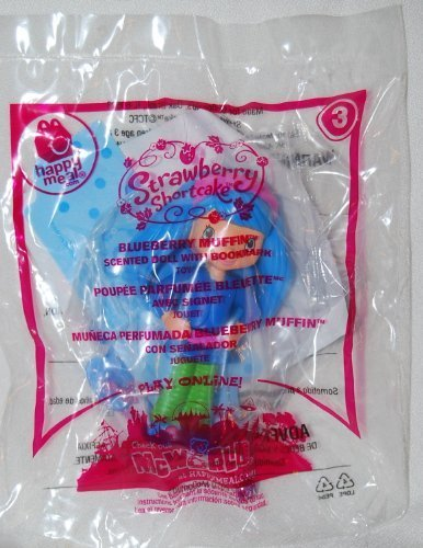 McDonalds 2010 Strawberry Shortcake Blueberry Muffin #3 Doll